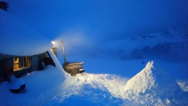 Nuit nordique en igloo